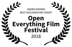 Winner Open Everything Film Festival, Vienna